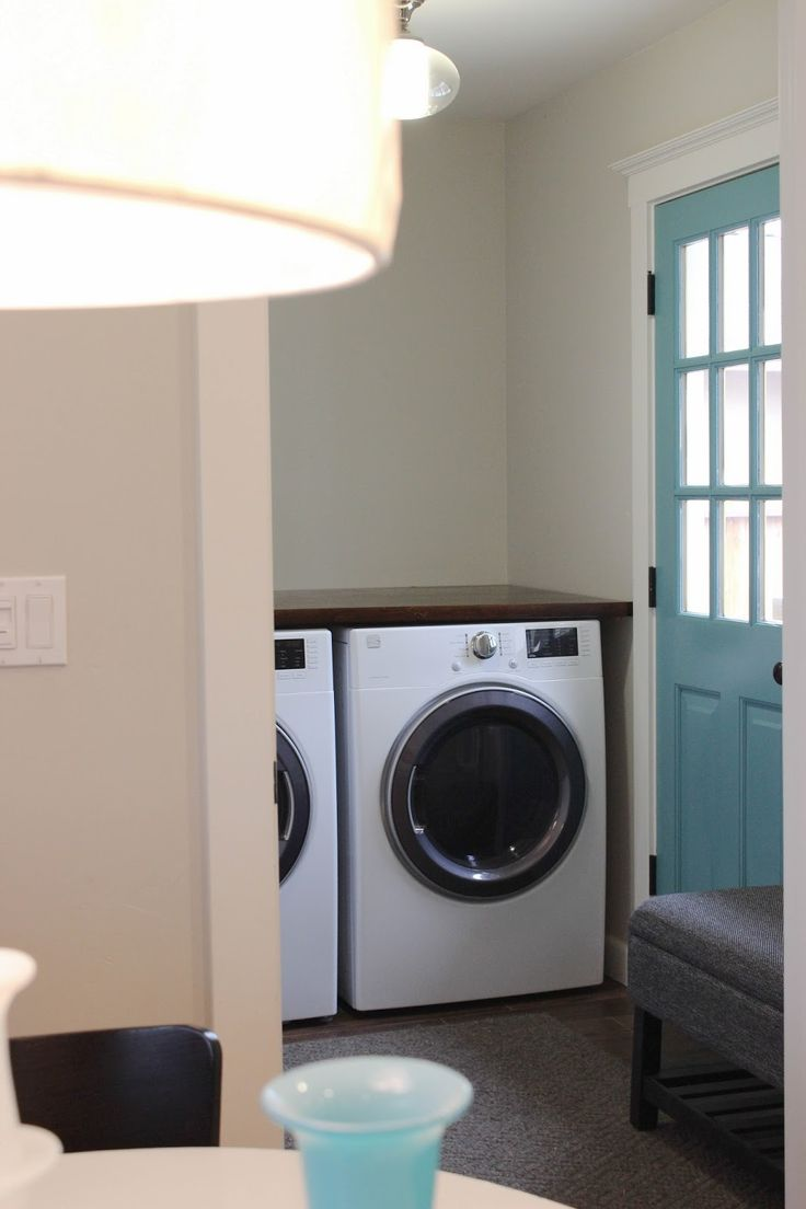 1000 ideas about laundry room countertop on pinterest for Laundry room countertop over washer and dryer