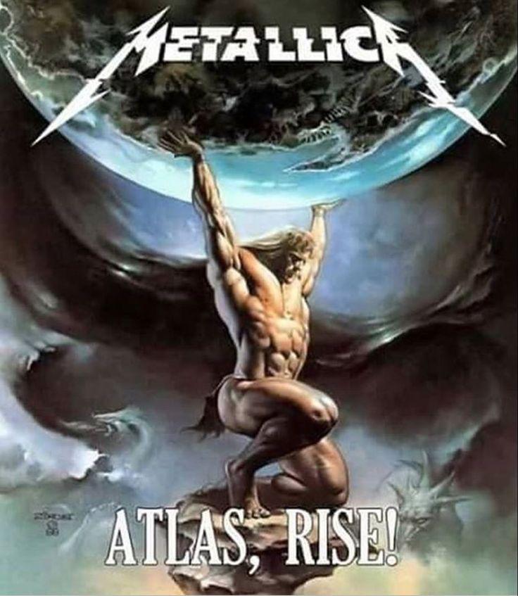 FAN ART - ATLAS RISE - METALLICA - HARDWIRED TO SELF DESTRUCT