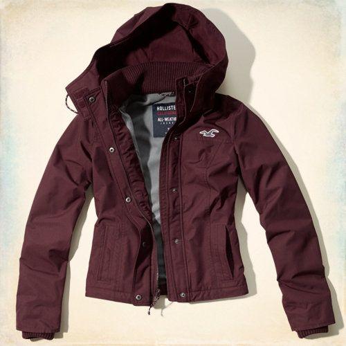 Hollister winter mantel