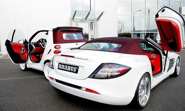 BRABUS McLaren SLR com o sistema Tender