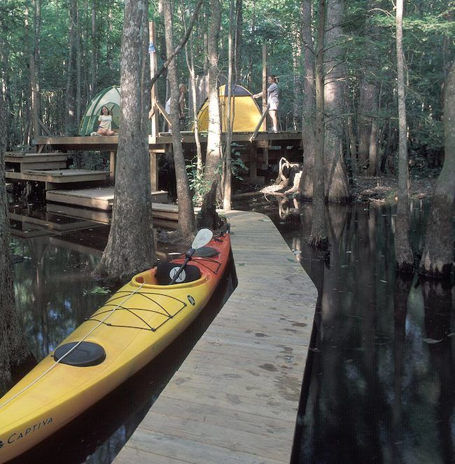 Roanoke River Paddle Trail for a kayaking camping adventure!