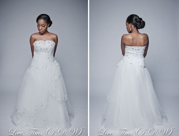 Wedding Dresses In Nigeria From The Love Tims Bridal Gown Collection By I Do Weddings