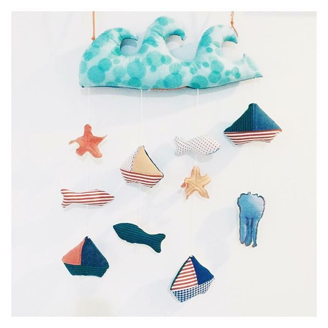 Con noi la magia del mare dura tutto l'anno. Nascono le nuove decorazioni tessili di P&C: tanti temi diversi per tutti i gusti. #magicdreams #cradletoys #kidslifedesign