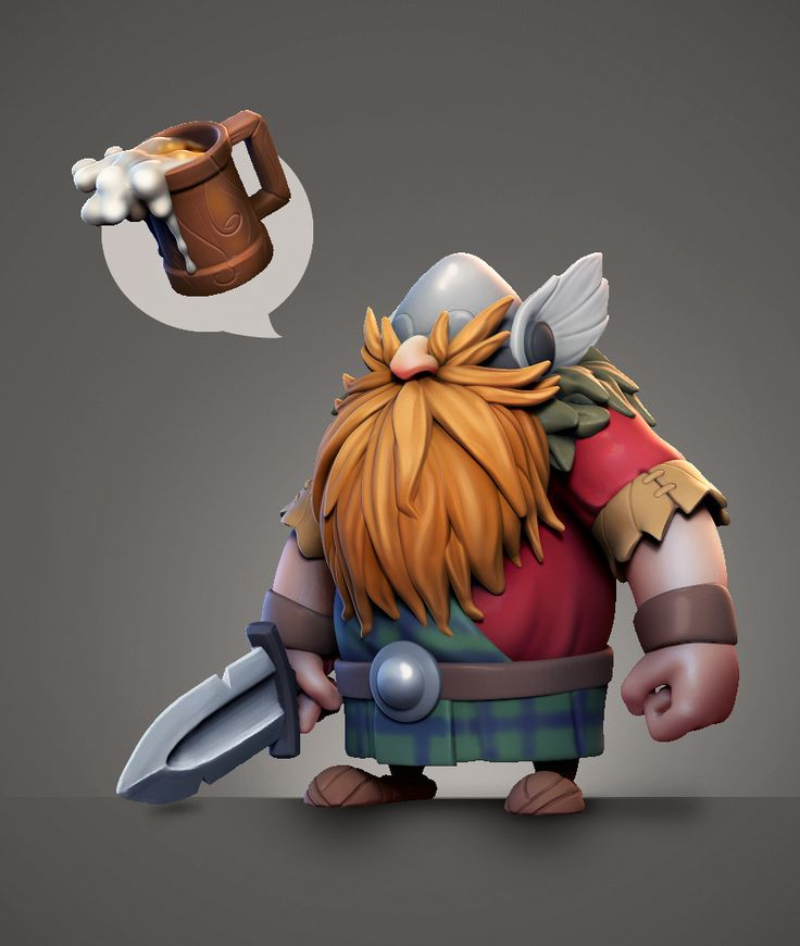 Viking_Daily_Sculpt by Deoce