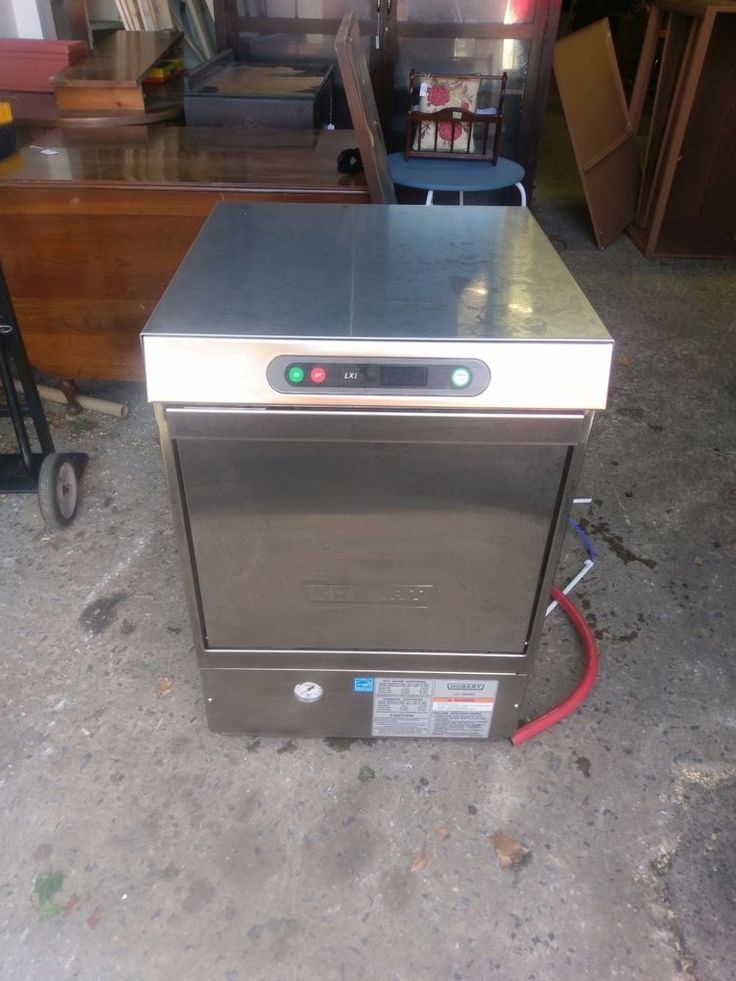 Here is a Hobart LXi Under Counter Dishwasher, The Dishwasher is in great shape and does work, It comes with all the fittings and piping needed. | eBay!