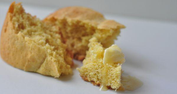 Yeast Corn Bread-batter bread | I like bread and butter | Pinterest