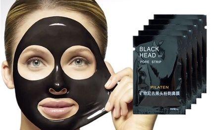 Le masque au charbon aide à éliminer acné, points noirs et comédons sur les zones du visage telles que le front, le nez et le menton.