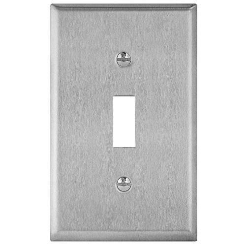 Enerlites 7711 Toggle Switch Stainless Steel Wall Plate 1 Https Www Amazon Com Dp B01md1udct Ref Cm Sw R Pi Dp U X Spcdbb Plates On Wall Steel Wall Lights