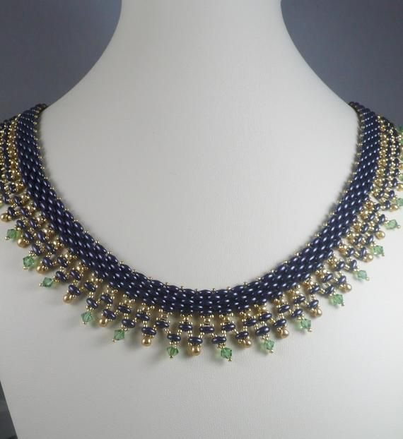 collier perle duo