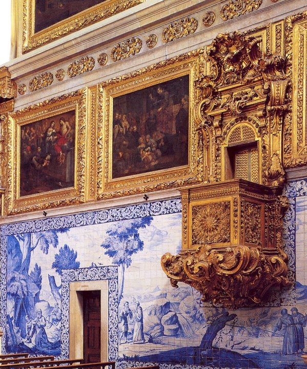 The church of Mother of God, jewel of Portuguese Baroque is an integral part of a visit to the National Tile Museum. #Portugal
