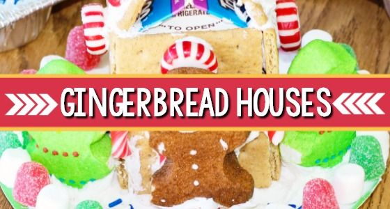how to make milk carton gingerbread houses in preschool cookies rh pinterest com