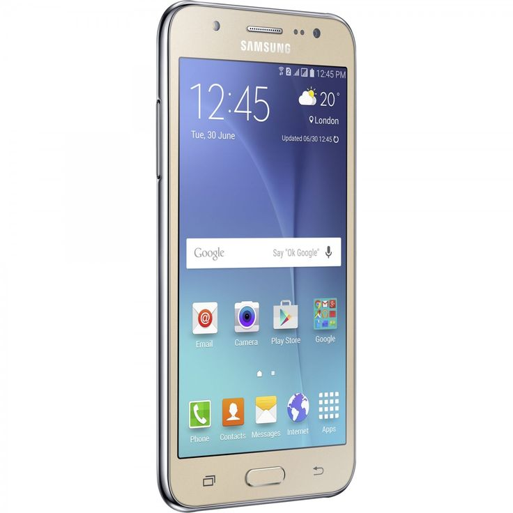 Smartphone Samsung Galaxy J5 Dual Sim 8GB Gold - Neoplaza.ro