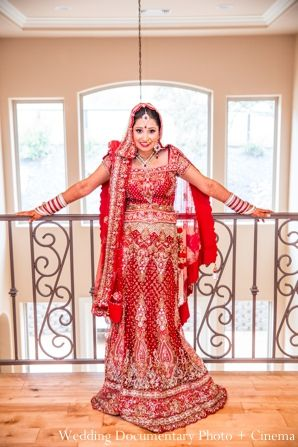 Indian Wedding Bridal Lengha Traditional In Concord California By Documentary Photo Cinema