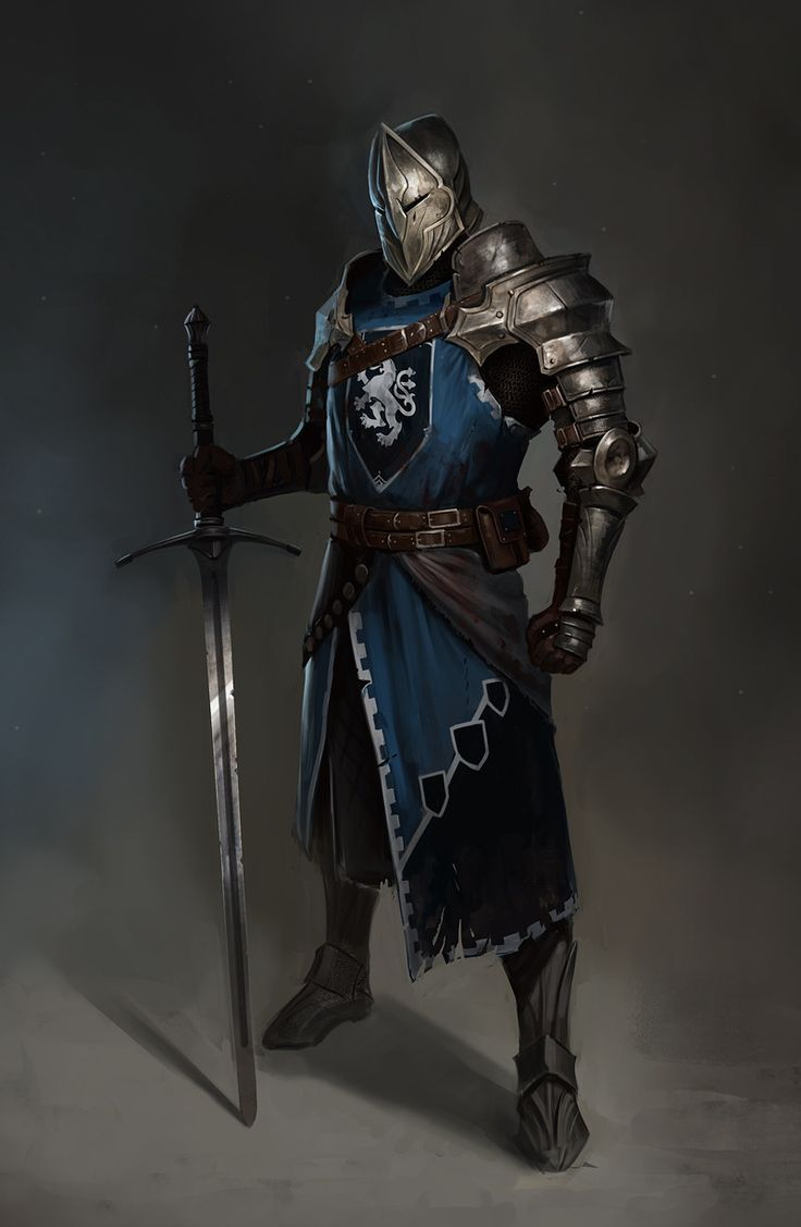 The Knight, Vladimir Buchyk on ArtStation at https://www.artstation.com/artwork/871324