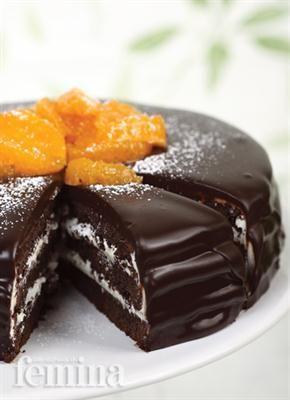 Femina.co.id: Chocolate And Orange Cake #resep