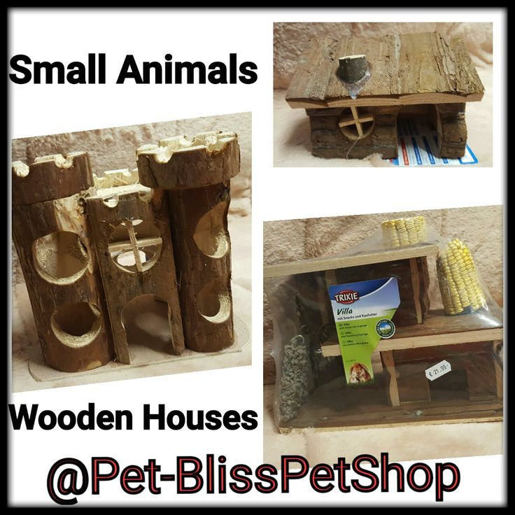 Small Animals  Wooden Houses