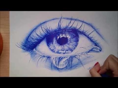 Retrato dibujo bolígrafo # 1 - HD - YouTube
