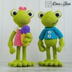 Kelly the Frog - Amigurumipatterns.net
