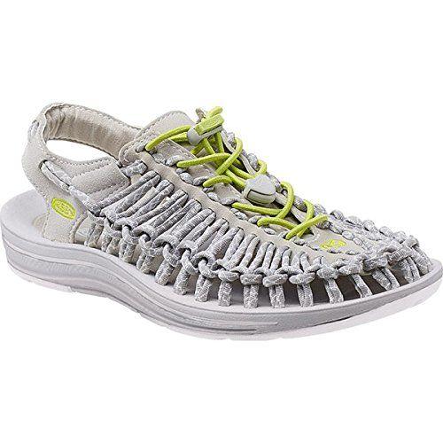 (キーン) KEEN レディース シューズ・靴 サンダル Uneek 8mm Rock Sandal 並行輸入品  新品【取り寄せ商品のため、お届けまでに2週間前後かかります。】 表示サイズ表はすべて【参考サイズ】です。ご不明点はお問合せ下さい。 カラー:Vapor/Chartreuse