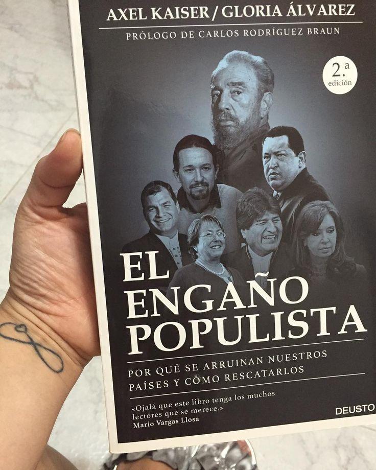 La Demagogia  las falacias y las trampas del populismo.  #americalatina #venezuela #gloriaalvarez #elengañopopulista   via Instagram http://ift.tt/2rY3qH2