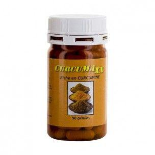 Curcumaxx en gélules est composé d'extrait secs de curcuma riche en curcumine (95%). Le pilulier s'emporte partout, les 90 gélules permettent de faire un programme d'un mois.