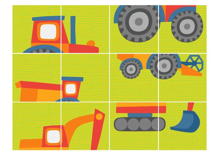 Seikkailukone | tulostettava | paperi | peli | tehtävä | traktori | maatila | lapset | game | tractor | farm | children | kids | free printable | Pikku Kakkonen