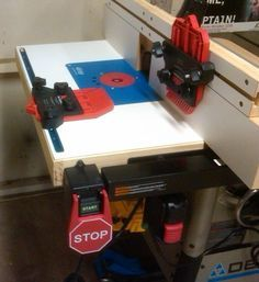 Table Saw Router Extension Delta 36-725 - by EricLew @ LumberJocks.com ~ woodworking community