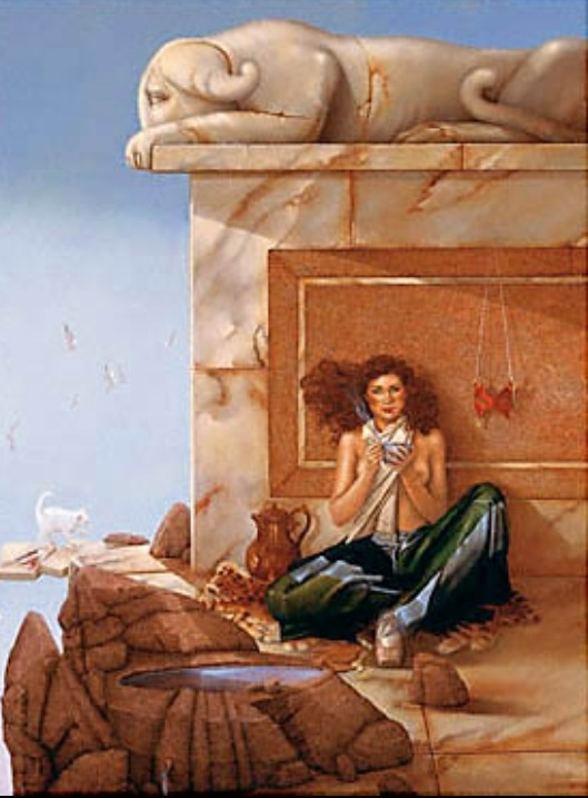 Well-known 412 best Artist, Michael Parkes images on Pinterest | Magic  BV78