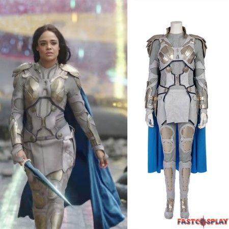Thor Ragnarok Valkyrie Cosplay Costume Deluxe Costume