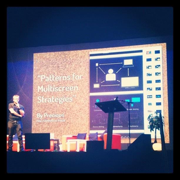 Conférence d'Andreas Bovens (Opera) sur le responsive design au #web2day