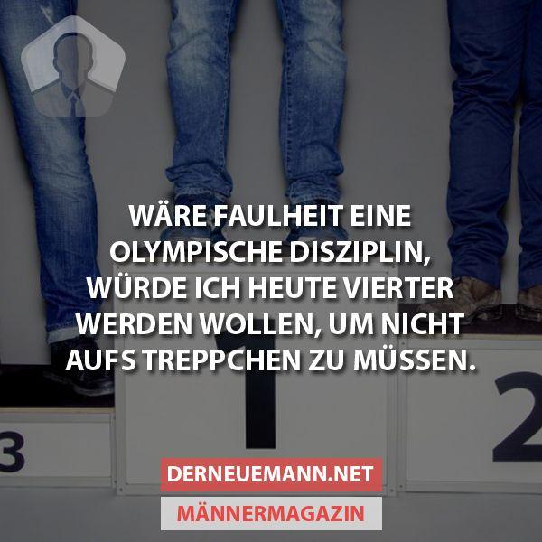 Olympische Disziplin #derneuemann #humor #lustig #spaß #rio2016 #gold