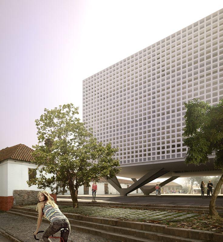 M s de 25 ideas incre bles sobre fachadas de edificios en for Concurso docentes exterior
