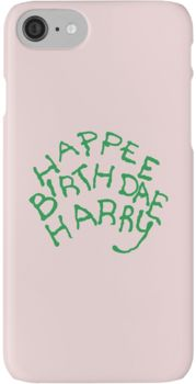Happee Birthdae Harry iPhone 7 Cases