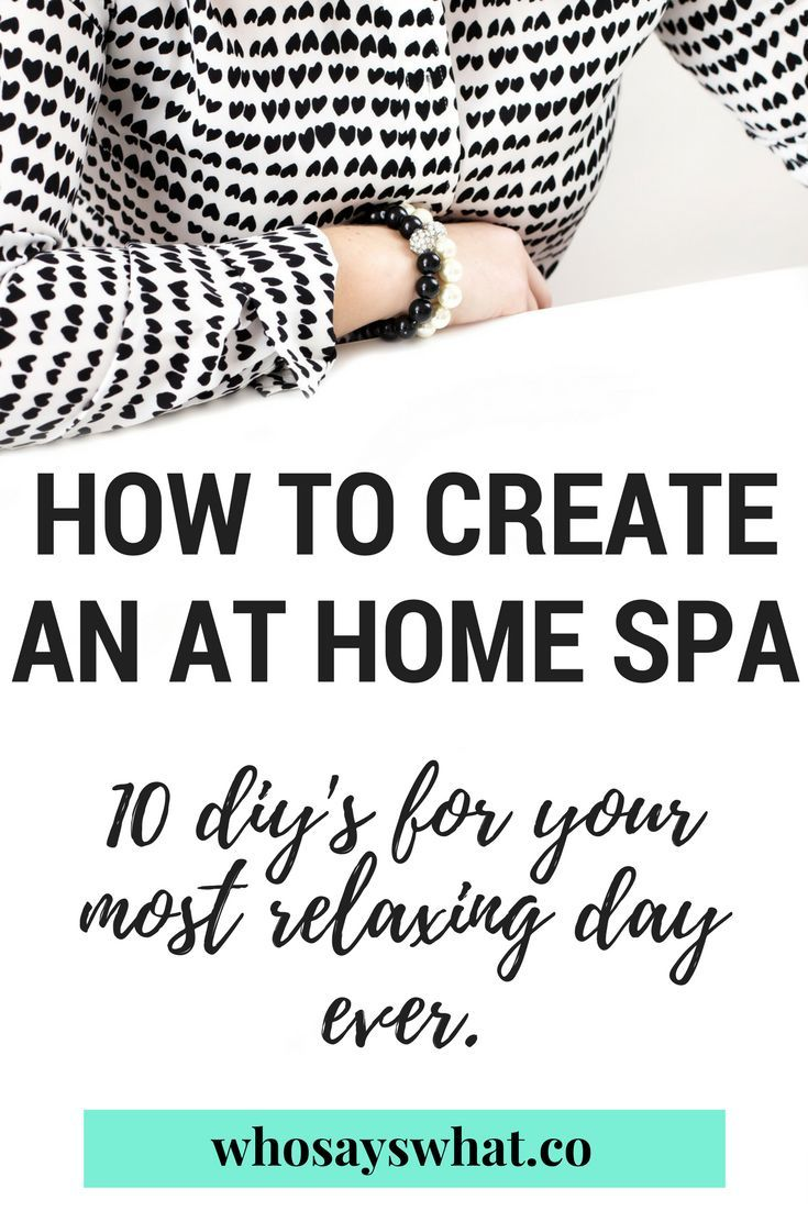 You need an at-home spa day! Pamper yourself at home for your next spa day with these 10 diy recipes.  Create a luxury spa for yourself to relax and feel less stressed!  Prepare for the week with this at home spa routine to stay productive!