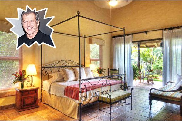 Mel Gibson - The Best Celebrity Bedrooms - Photos