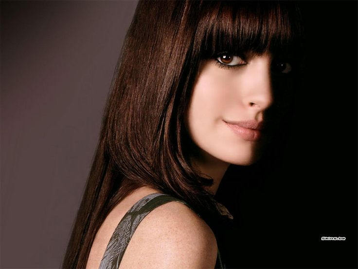 Anne Hathaway. Watch her in: The Devil Wears Prada, The Princess Diaries, Alice in Wonderland, Get Smart, Rachel Getting Married, The Dark Knight Rises, Les Miserables