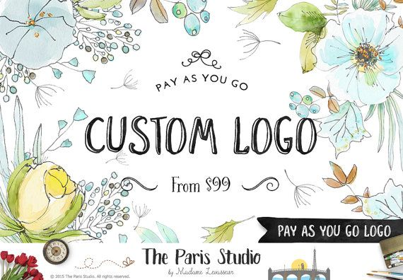 NON Premade Logo Design Pay As You Go Logo by TheParisStudio