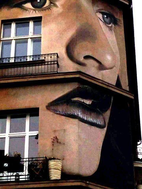 Street art Rone,  Berlin