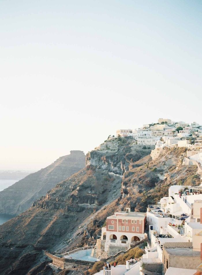 Santorini Greece | Oia | Pyrgos | Photographer Jen Huang