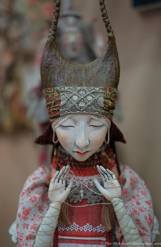 """Love the expression , the serenity of this doll. PInner says: Максим - """"Салон авторских кукол"""""""