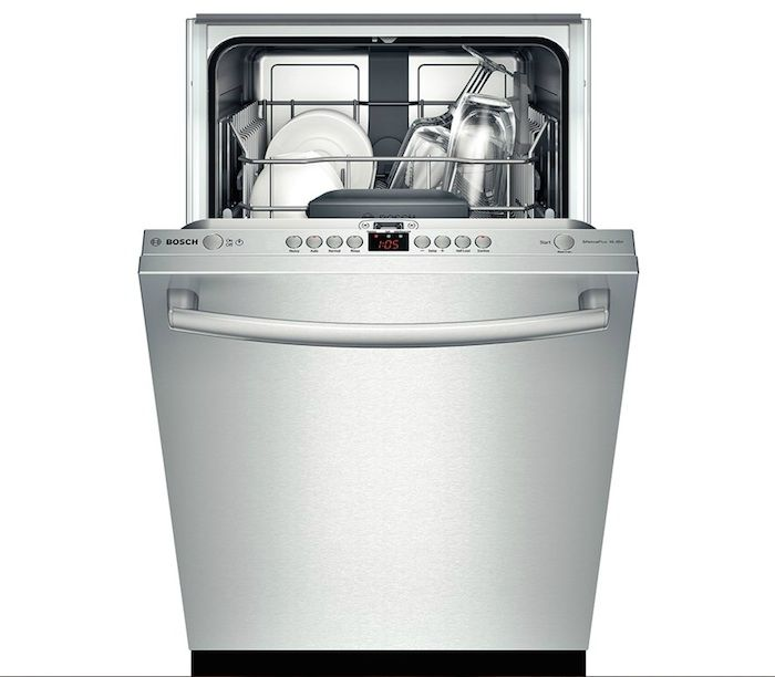 Bosch SPX5ES55UCX 18 in. Fully Integrated Dishwasher: Remodelista