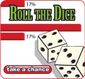 Our dice game allows you to see how increasing or decreasing the number of dice rolls effects an outcome.