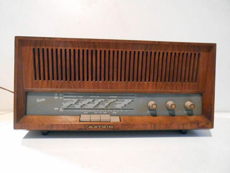 ANTICA RADIO D EPOCA A VALVOLE  ASTRID 1208  Leggi tutto.