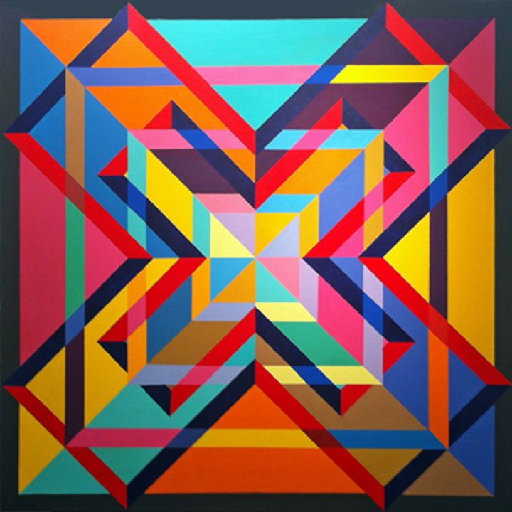 1434 best Hard Edge and Geometric Abstraction images on Pinterest ...