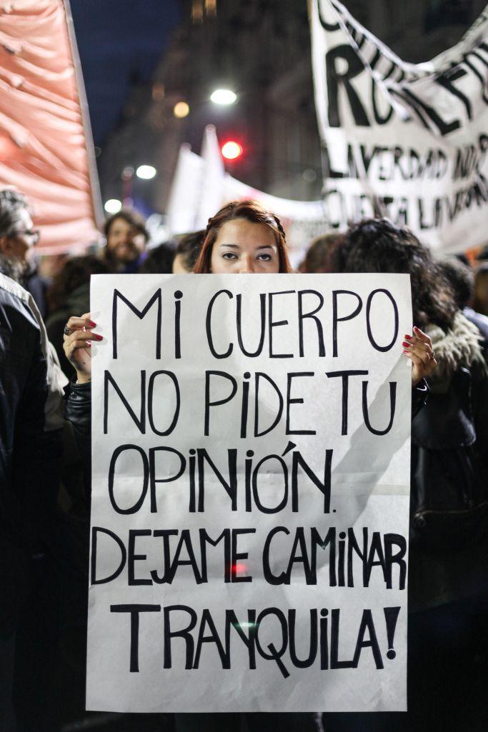 Ni Una Menos 2016 Mujer Feminista Arte Feminista Y Feminismo