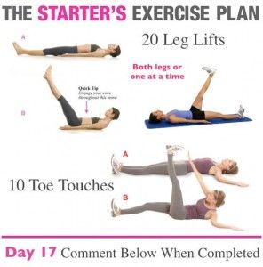 The Healthy Work at Home Woman Series: The Starter's Exercise Plan