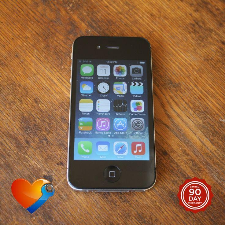 iHeart Repair - Refurbished iPhone 4S - 32GB - Black - AT&T