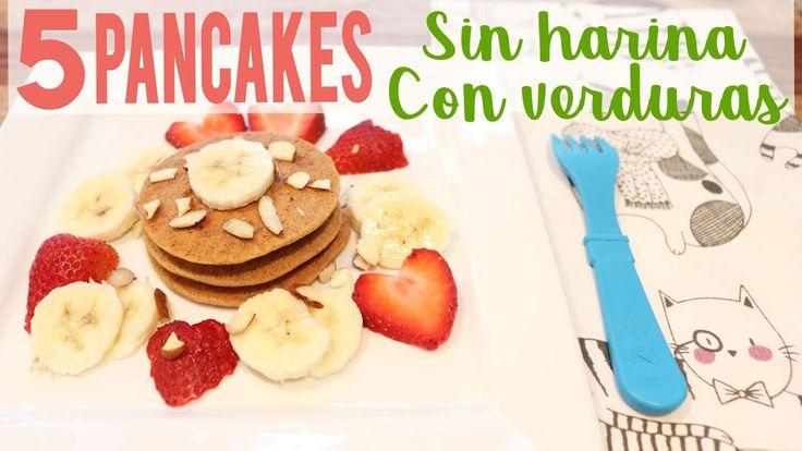 5 Recetas de Pancakes rápidos y saludables para bebés y toddlers | BLW P...