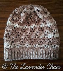 Vintage Slouchy Beanie - Free Crochet Pattern - The Lavender CHair