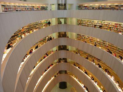 Zurich Central Library, Zurich, Switzerland